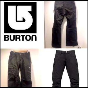 BURTON Womens Dry Ride All Black Snowpants